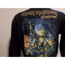 Buzo Campera Iron Maiden , Ac Dc , Korn