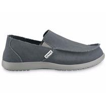 Mocasín Crocs Santa Cruz Men Zapato Náutico Hombre Zapatilla