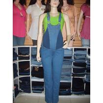Braga Materna, Jeans Stretch, Azul, Talla 10, 12, 14, Y 16.