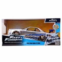 Fast & Furious - Brian Nissan Skyline Gt-r (r34) Escala 1:24