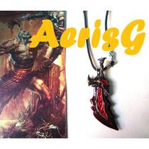 Arg God Of War Collar De Espada Unico Xbox Games Anime Vmj