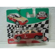 Taxi Mania Taxi Mediano Nuevo Df Tzuru Rojo/dorado 1:64