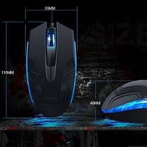 Mouse Alambrico Midio Blue Armor M-109 Gamer 1000 Dpi