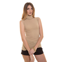 Blusa Reeb Beige Cuello Tortuga Saints Clothes