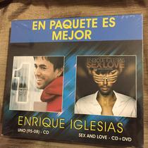 Enrique Iglesias Sex & Love Bailando Edition/uno 95/08 Nuevo