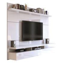 Home Suspenso City 1.8 P/ Tv Até 60 Led Lcd - Branco Gloss