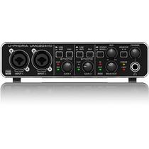 Behringer Umc204hd Interface Umc 204 2.0 192kh Artemusical