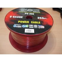 Bobina Rollo Cable Positivo Poder # 8 Absolute Sonido Planta