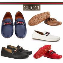 Mocasines Gucci Drivers Envio Dia Sig Y Meses S/i