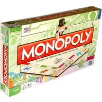 Juego De Mesa Monopoly Clásico Monopolio Finanzas De Hasbro