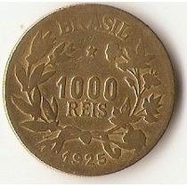 Moeda - 1000 Réis 1925 - Mbc