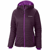 Campera Columbia Go To Hooded Invierno Frio C/ Capucha Mujer
