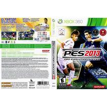 Pes 2013/2014 Futebol Jogo Para O Xbox 360 Original Usado