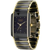 Relógio Technos Gn10aa/4p Elegance Ceramic Sapphire Nf-e