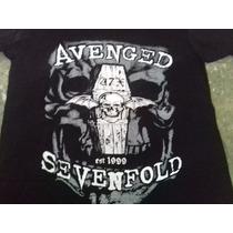 Playera, Avenged Sevenfold A7x,serigrafia, Talla M
