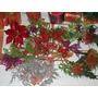 Flores Navideñas. Para Decorar. 3 Flores X 1700