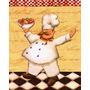 Placas Decorativas 20x25 Retro Vintage Chefe Cozinha Gourmet