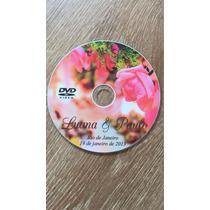 100 Mídias Dvd(4,7gb) Ou Cd + Impressão Direto Na Mídia