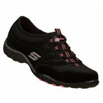 Zapatos Skechers Para Damas Bikers 22453-blk