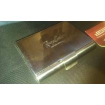 Caja De Metal Renzo Costa Billetera