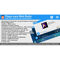 Mega Player De Webradio - Radio Online No Topo - Radio Web