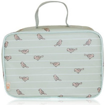 Lonchera Xo(eco) By Blueavocado Lunch Case, Sage Birds