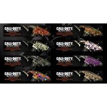 Camuflagem De Armas Call Of Duty Black Ops 2 *ps3* Jogo Br