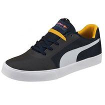 Zapatos Puma Red Bull Rbr Wings Vulc Para Hombres 305741 01