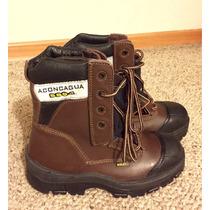 Zapatos De Seguridad N°41 American Shoes Modelo Aconcagua