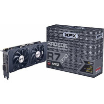 Placa De Video Xfx R7 370 2gb Gddr5 Doble Cooler Sci