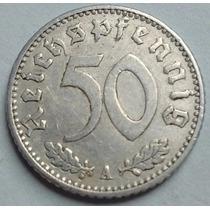 Tercer Reich - Alemania Nazi - 50 Reichspfennig 1.941 A