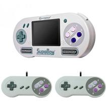 Supaboy Consola Portatil Super Nintendo + 2 Controles Snes