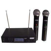 Microfonos Inalambricos Dobles Radox 490-491 Gran Alcance