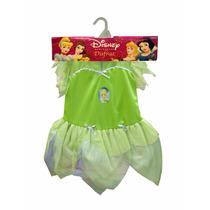 Disfraz Campanita- Tinker Bell Talle 1 New Toys- Minijuegos