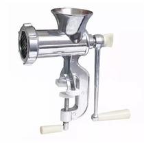 Moedor De Carne Multiuso Manual Máquina Açougue Alumínio