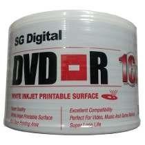 Dvd-r Sg Digital Imprimible 16x !!! Calidad Los Dos Caminos