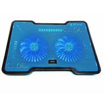 Base Para Notebook Netboock 2 Coolers 14cm Usb Con Luz Led