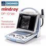Ecógrafo Portátil B/n Mindray Dp-10 Vet +microconvex Digimed