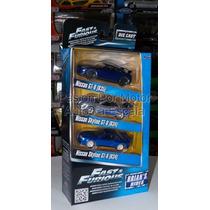 1:55 2 Packs Rapido & Furioso 6 Piezas Jada Toys 1:64