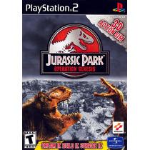 Patch Jurassic Park Operation Genesis Ps2 Frete Gratis