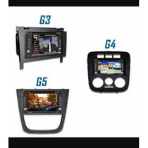 Kit Multimédia Vw Gol G3/g4/g5 Completo+moldura+câmera Brind