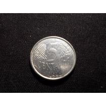 Brasil - Moneda De 5 Ctvs. - Año: 1996