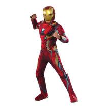 Rubie Traje Capitán América: Guerra Civil Lujo Traje Iron Ma