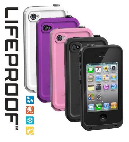 Funda blanca lifeproof contra golpes y agua para iphone 4 4s en mercado libre - Fundas lifeproof ...