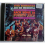 Tito Rodriguez, Back Home In Puerto Rico. Cd.