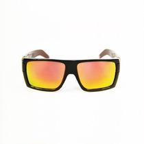 Anteojos De Sol Six Eyewear - Blackout Gold