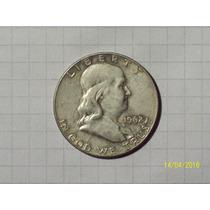 Estados Unidos 1/2 Dólar Plata 1962 D