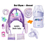 Set Gym+avent:mamadera Y Chupete Envio Gratis Puerta