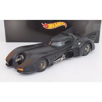 Batimovil Batman Returns 1992 M. Keaton Hot Wheels Esc 1:18