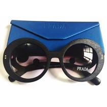 Oculos De Sol Baroque Madeirado + Case Personalizado